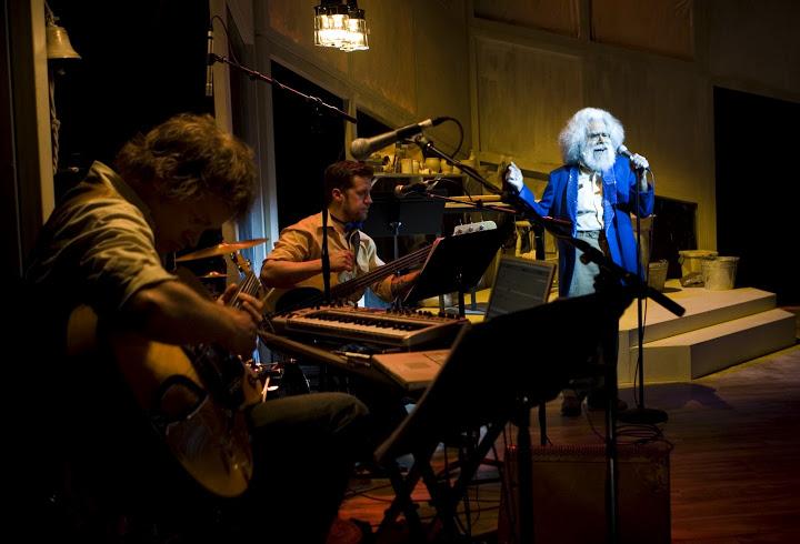Jack Charles and his Band. Pic Bindi Cole
