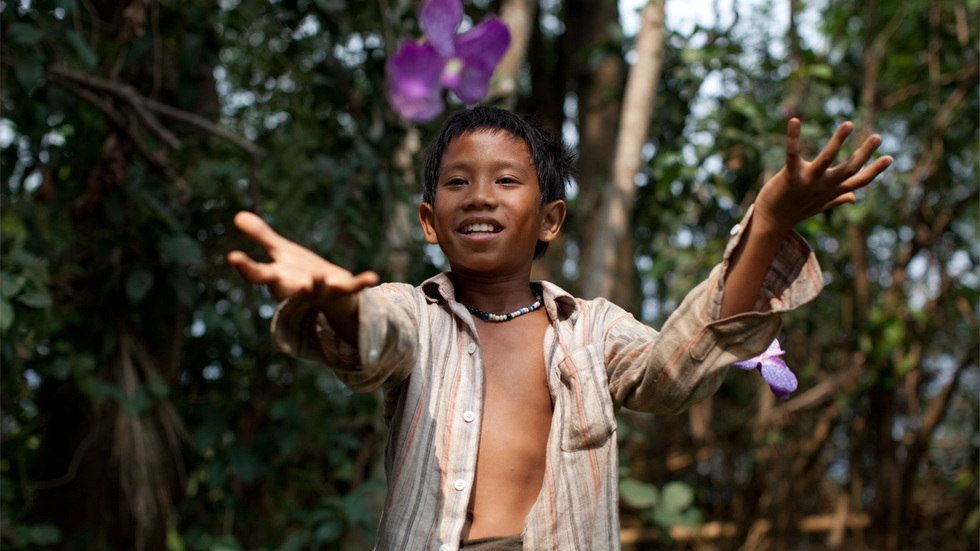 Sitthiphon Disamoe stars as the young hero in Kim Mordaunt's THE ROCKET
