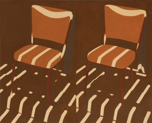 Same chair changed light- In Oil