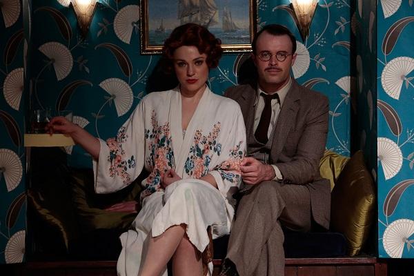Ella Scott Lynch as Nicole and Anthony Gooley as Hertz-Hollingsworth. Pic Zak Kaczmarek
