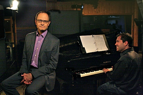 Broadway Musicals: A Jewish Legacy © Joe Skinner/Ghost Light FilmsPerformer David Hyde Pierce and pianist Andy Einhorn.