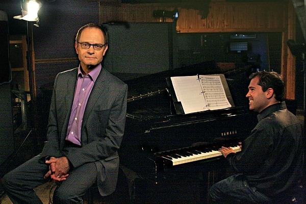 Broadway Musicals: A Jewish Legacy © Joe Skinner/Ghost Light FilmsPerformer David Hyde Pierce and pianist Andy Einhorn.