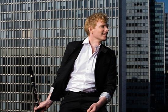 Swedish virtuoso clarinettist Martin Frost, the guest of the Australian Chamber Orchestra. Pic Matts Backer