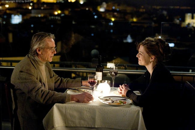 Jeremy Irons and  Lena Olin in NIGHT TRAIN TO LISBON