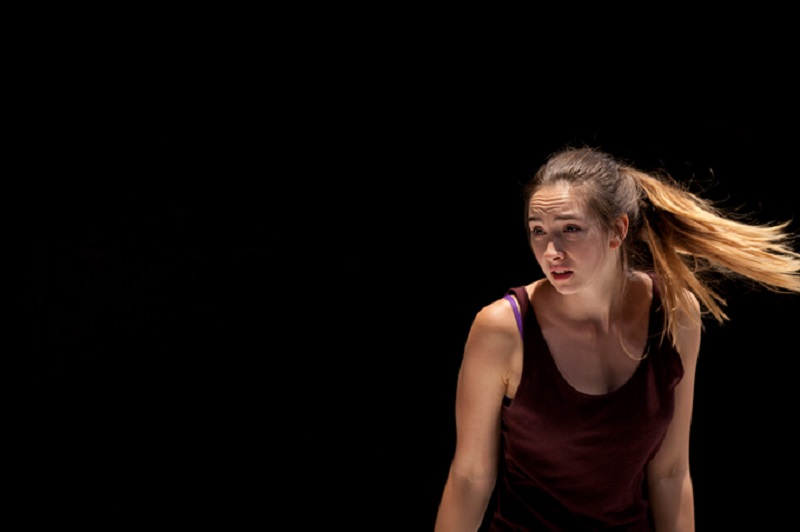 Darcie Irwin-Simpson plays an obsessed schoolgirl in Emily Sheehan's EATING SUNSHINE. Pic Gez Xavier Mansfield