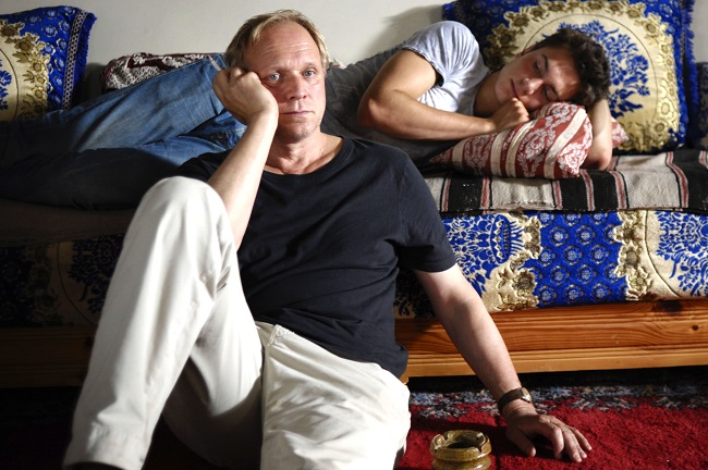 A troubled father and son relationship is at the heart of the new German film, EXIT MARRAKECH