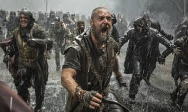Ruseell Crowe in the new blockbuster, NOAH