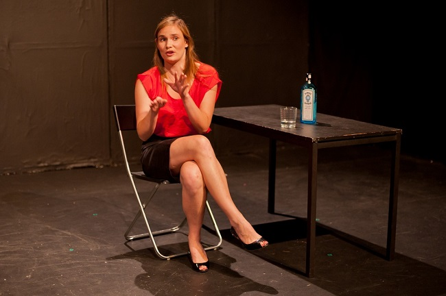 The talented Eliza St John gives a great comic performance in Pete Malicki's new play