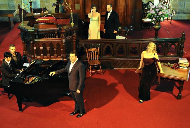Bradley Gilchrist-piano, Matthew Reardon, Julie Lee Goodwin,Greg McCreanor,Ellen Malone