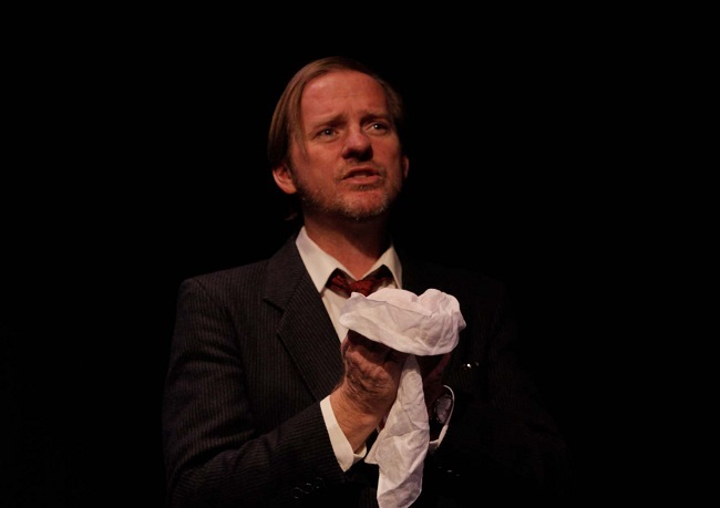 David Jeffreys gives a strong performance in Will Eno's poignant play