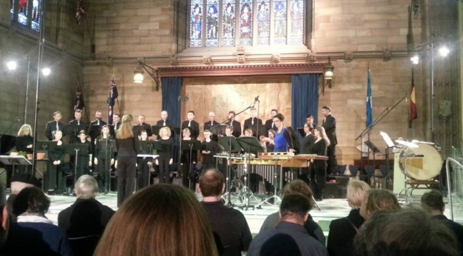 SYDNEY CHAMBER CHOIR: CLOUDBURST