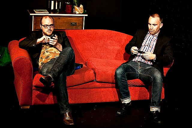 Living in the mobile world. Pic Katy Green Loughrey