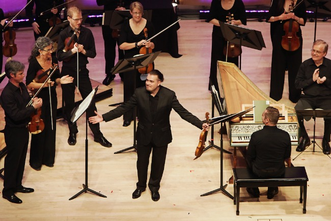Applause all round for the wizadry of Dmitry Sinkovsky. Pic Steven Godbee