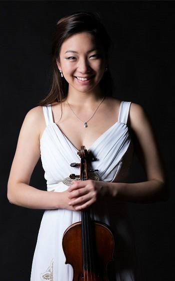 Violinist Ji Won Kim