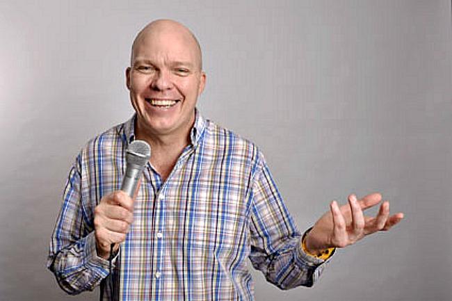 Comedian Sean Morahan at the Hive