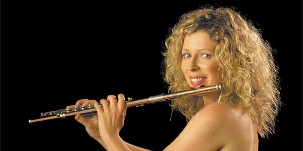 Flautist supremo, amongst many things, Jane Rutter