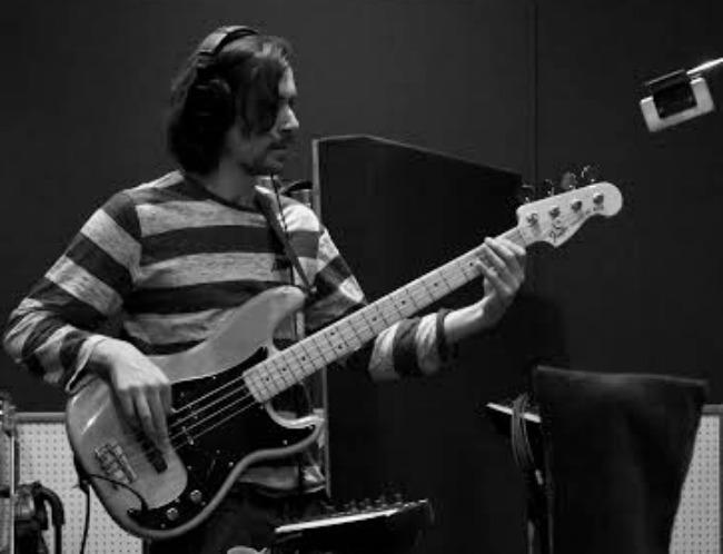 Bassist Siebe Pogson. Photo by Natasha Civijovski