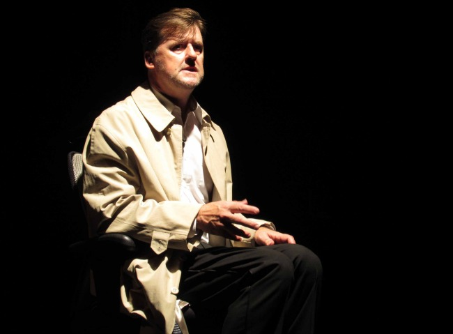 David Callan in his one man show I SPIED. Photo: Geoff Sirmai