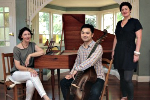 Harpsichordist Diana Weston, string player Shaun Ng and vocalist Anna Fraser provided some fine ensemble moments.
