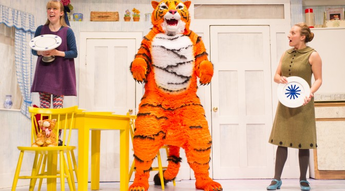 The Tiger Who Came To Tea, Lyric Theatre, Shaftesbury Avenue, London, UK.