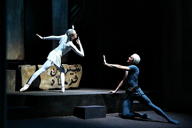 Anna Nikulina as Shireen and Denis Rodkin as Ferkhad in THE LEGEND OF LOVE