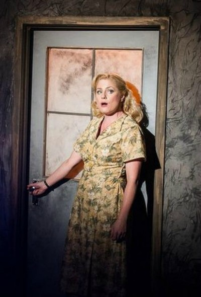 Helen Dallimore as Mrs Johnstone