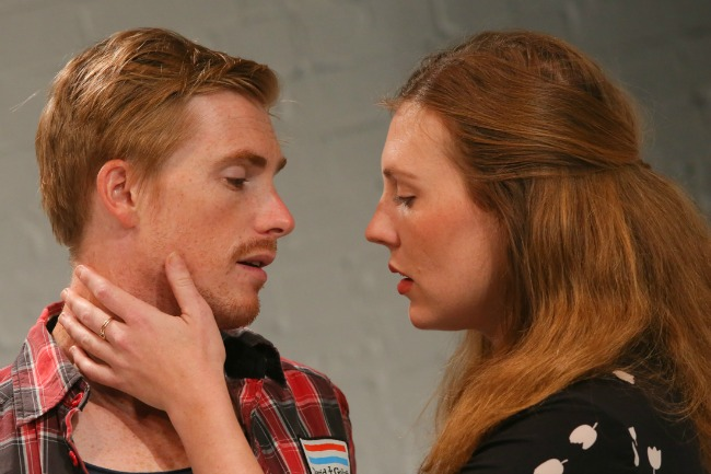 Inset- Michael Whalley and Matilda Ridgway. Featured- Matt Minto and Michael Whaley. Pics Tim Levy