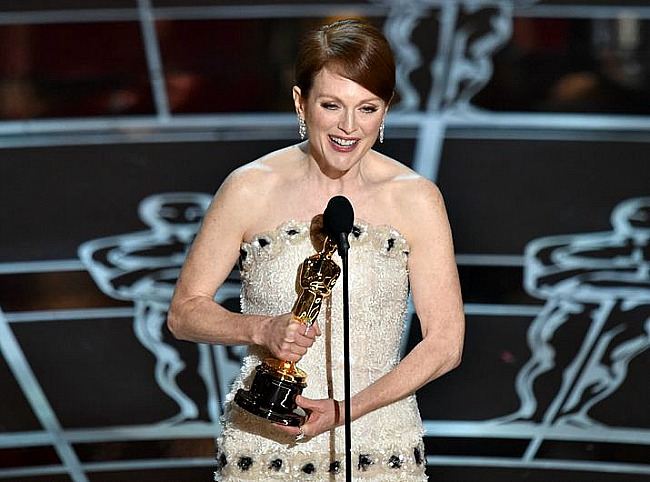 One of the greats, Julianne Moore, finally receives her first Oscar