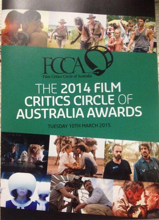 2014 FCCA AWARDS FOR AUSTRALIAN FILM