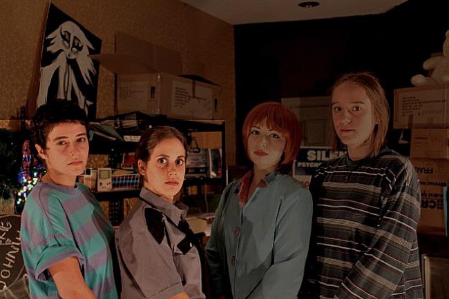(left to right) Mikaela Atallah, Jessica Pantano, Nicola Darcy and Michelle Sverdloff