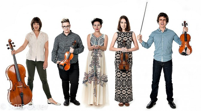 The Zephyr Quartet and Jane Sheldon present Musica Anonymous @ The Utzon Room Sydney Opera House
