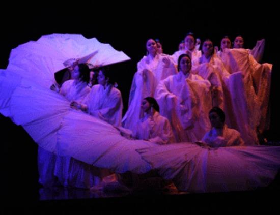 Members of the Opera Australia ensemble. Photo: Branco Gaica