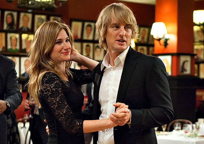 Imogen Poots and Owen Wilson in the romantic comedy SHE'S FUNNY THAT WAY.