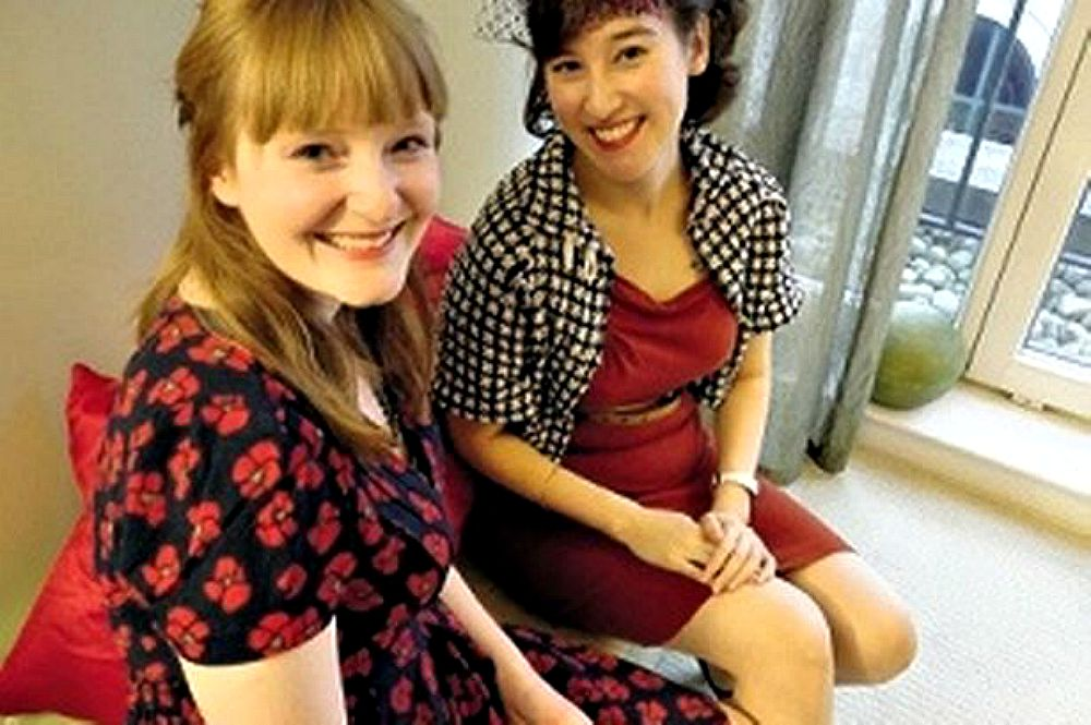 Rachel Piercy and Emma Wright, writer and editor of The Emma Press