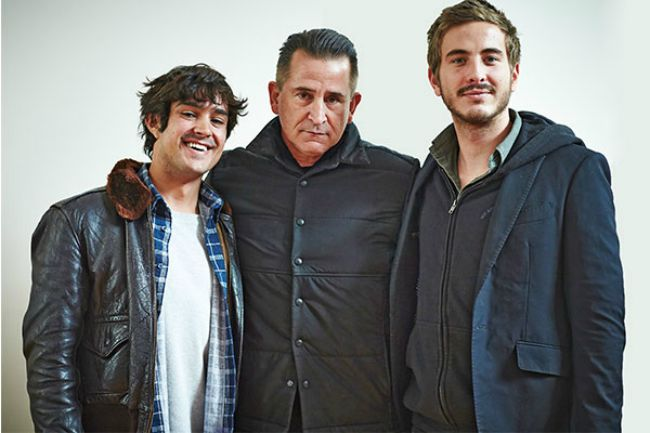 Craig Stott, Anthony LaPaglia and Ryan Corr in HOLDING THE MAN
