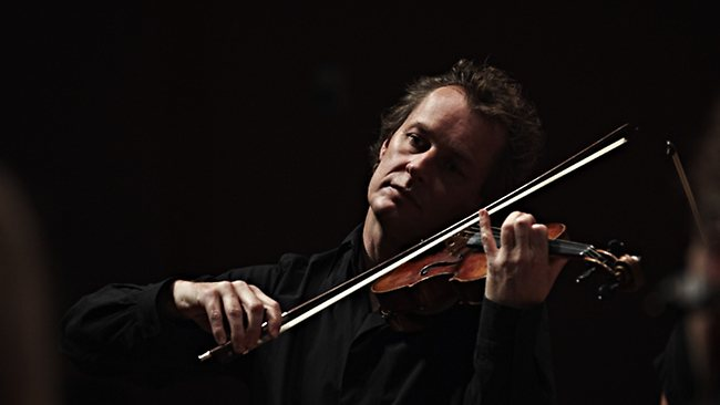 The Australian Chamber Orchestra's flamboyant conductor and violinist Richard Tognetti