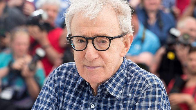 The remarkable Woody Allen recently photographed at Cannes promoting his latest film.