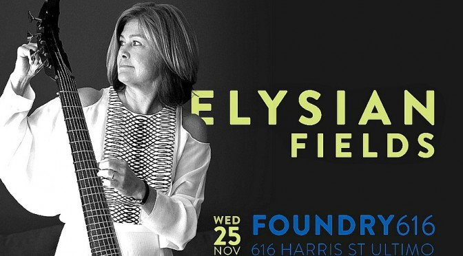 Elysian Fields – Australia's first electric viola da gamba band
