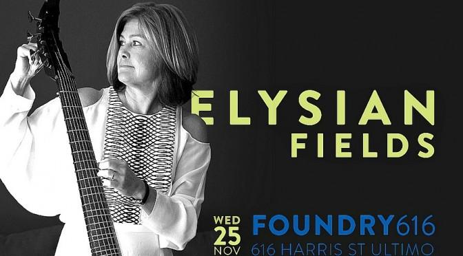 Elysian Fields – Australia's first electric viola da gamba band