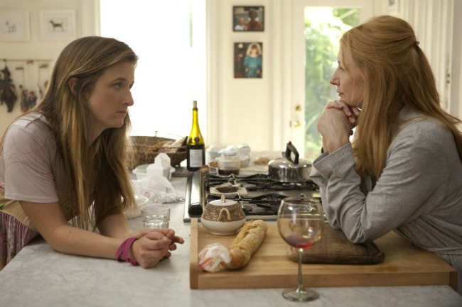 Mother and daughter sit down to chat- Grace Gummer and Patricia Clarkson