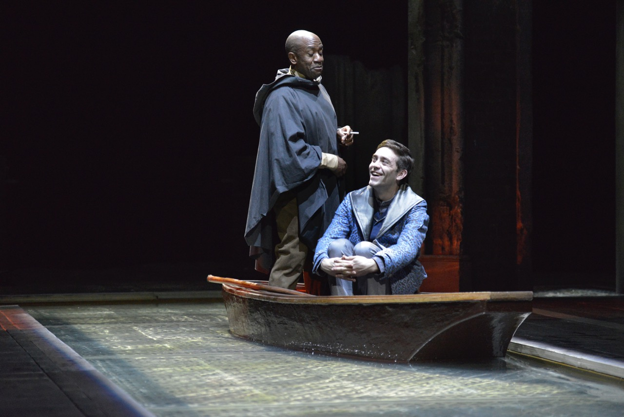 Scenes from OTHELLO. Production photography by Keith Pattison