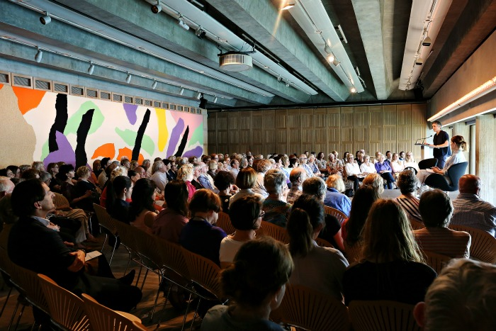 The first Culture Club discussion  at the Utzon Room. Photography by Prudence Upton.