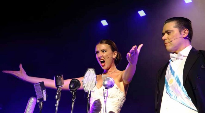 MANLY MUSICAL SOCIETY PRESENTS EVITA @ STAR OF THE SEA THEATRE MANLY