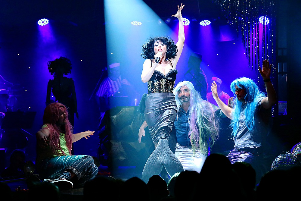 MEOW MEOW'S LITTLE MERMAID, another great show playing the Magic Mirrors Spiegeltent