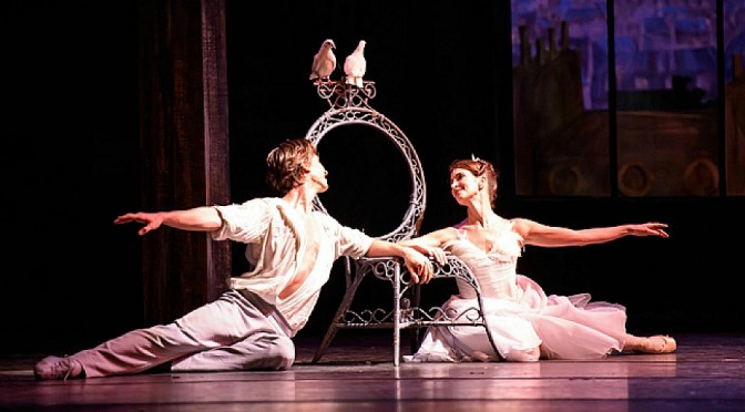 THE ROYAL BALLET IN RHAPSODY/THE TWO PIGEONS