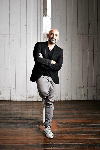 Inset pic- Sydney Dance Company Artistic Director Rafael Bonachela. Featured pic- Alexander Ekman. Production photography by Peter Greig.