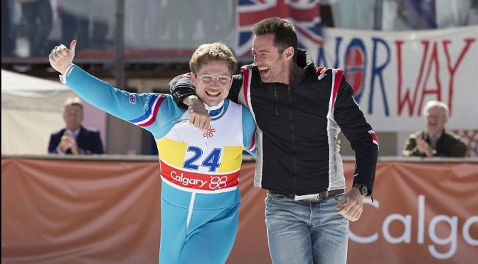 EDDIE THE EAGLE LANDING SOON
