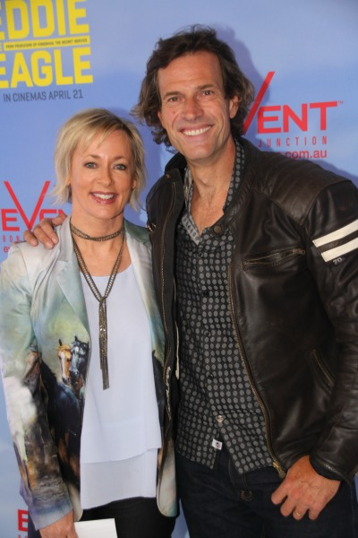 Amanda Keller and Brendan Jones
