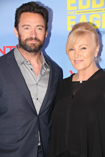 Hugh Jackman and wife Deborah Lee Furness