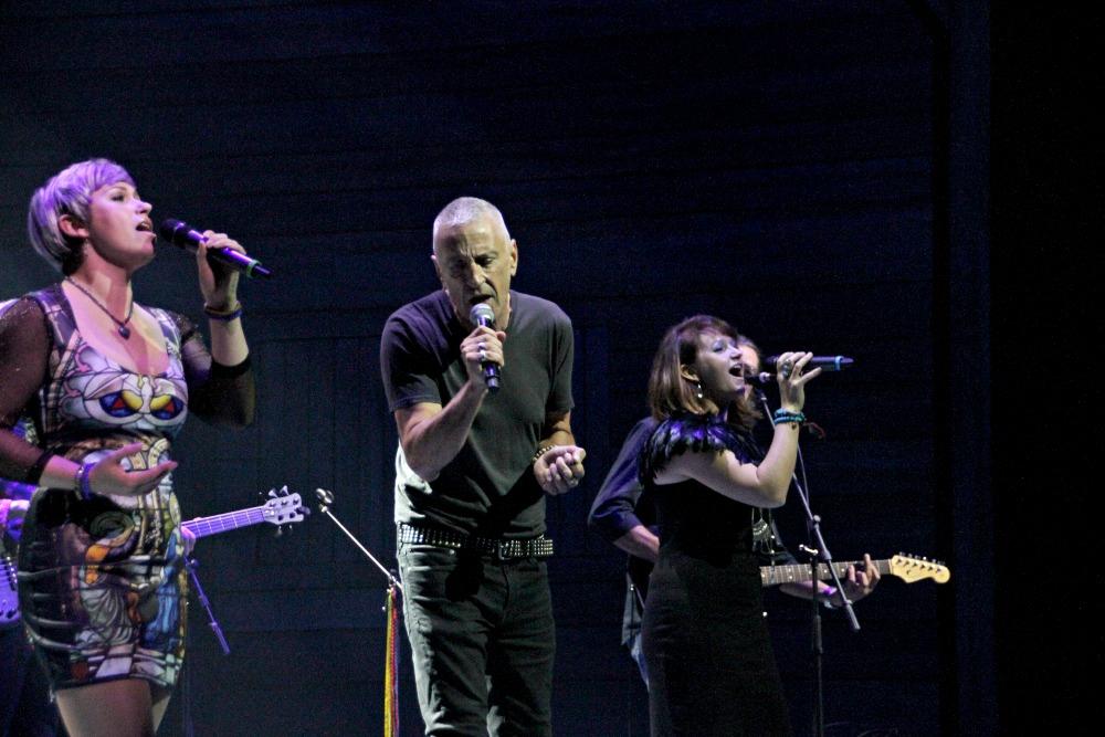 John Waters & Two Backup Singers